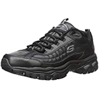 Skechers Men's Sport Energy Afterburn Lace-Up Sneaker 9 M US Black