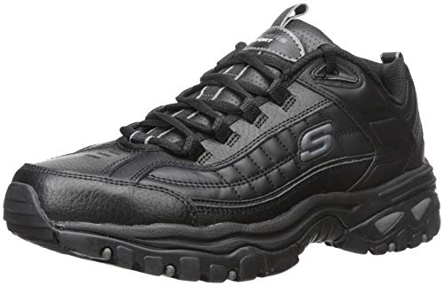 Skechers Herren Energy Afterburn Energie Nachbrennen (Schuhe), schwarz, 48 EU