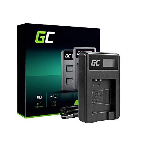 Green Cell® LI-50C Ladegerät für Olympus LI-50B und Olympus XZ-1 XZ-10 SP-800UZ SP-810UZ SZ-10 SZ-11 SZ-20 SZ-30MR Stylus 1010 1030SW 9000 Tough TG-610 TG-810 6000 6020 8000 8010 (2.5W 4.2V 0.6A) -