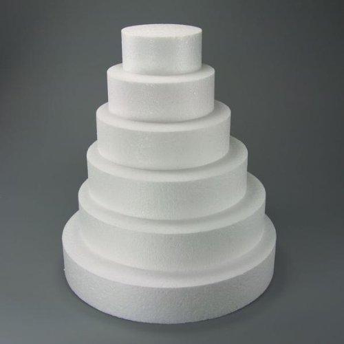 Staedter rond de coupe pour Demo gâteaux, Blanc,, blanc, 25 cm