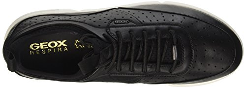 Geox U Brattley B, Sneakers Basses Homme Noir (Blackc9999)