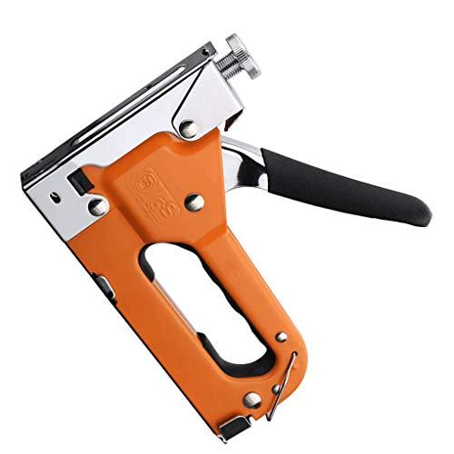 Dpolrs 1000Pcs T-Typ U-Tür-Typ Staples Verstärkung Nagel Drahtbefestigungs Snags Holzbearbeitungszubehör (Staples Ladegerät)
