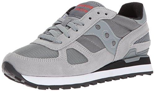 Saucony shadow original, sneaker uomo, grigio, 43 eu