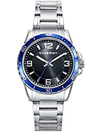 Viceroy Boys Analogue Quartz Watch with Stainless Steel Strap 401115-55 264cb6d85290