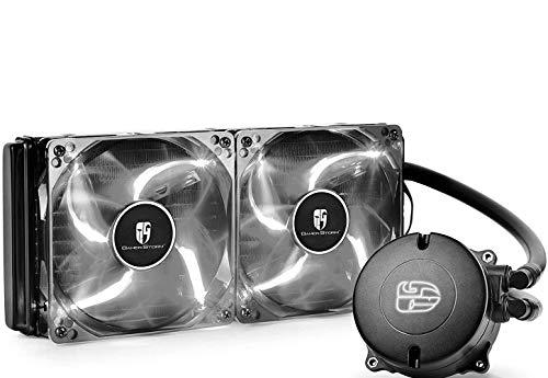 DeepCool Maelstrom 240T Ventilateur PC Blanc