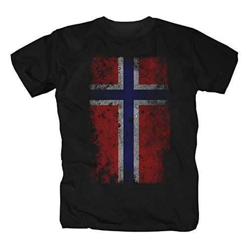 Norwegen Shirt, Vintage (L)