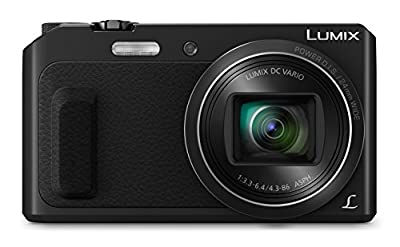 Panasonic Lumix DMC-TZ57EB-K Compact Digital Camera - Black (16 MP, 20x Optical Zoom)