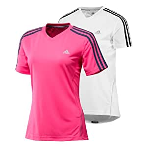 "adidas ClimaCool Formation Damen Jogging/Fitness/Tennisshirt ""RSP DS S/S T W"" Gr. 34"