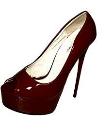 PleaserClassique 20 - Scarpe con Tacco Donna amazon-shoes rosa Classico