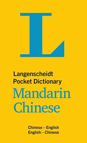 Langenscheidt Pocket Dictionary Mandarin Chinese: Chinesisch-Englisch/Englisch-Chinesisch (Langenscheidt Pocket Dictionaries) (E-wörterbuch Englisch-chinesisch)