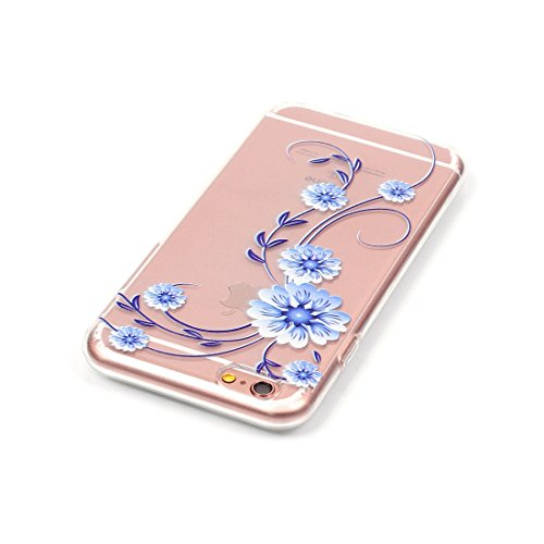 Yaking® Apple iPhone 6/6S Coque Silicone TPU Case Cover Gel Étui Housse pour Apple iPhone 6/6S P-1