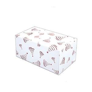 Cuisineonly - Boite pliante isotherme pour buche glacee - 25 unites 1L, longueur 30cm largeur 11cm hauteur 9cm. Cuisine : Usage Unique (boites A Gateaux - Emballages Pour La Glace)