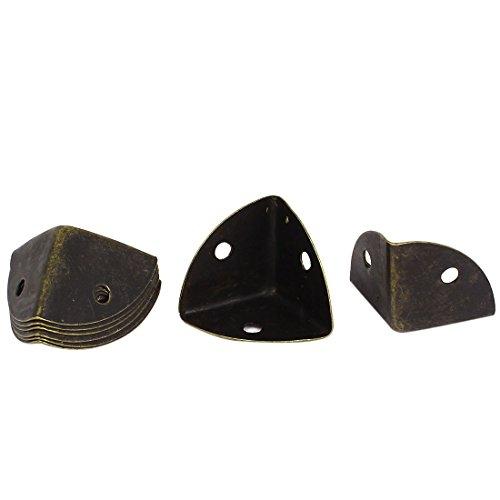 Sourcingmap® 25 mm bronzo di metallo astuccio
