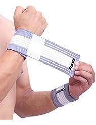 LUFA 1pc Bandage de blessures sportives Bracelets ajustables Elaborer le coude Soutien au poignet Compression Wrap Wrist