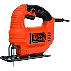 Black and Decker KS501 - Sierra de calar, 400 W, 230 V, color naranja y negro