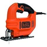 Black and Decker KS501 - Sierra de calar, 400 W, 230 V, color naranja y negro