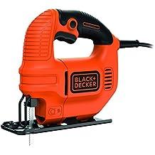 BLACK+DECKER KS501-QS Seghetto Alternativo Compatto, 400 W