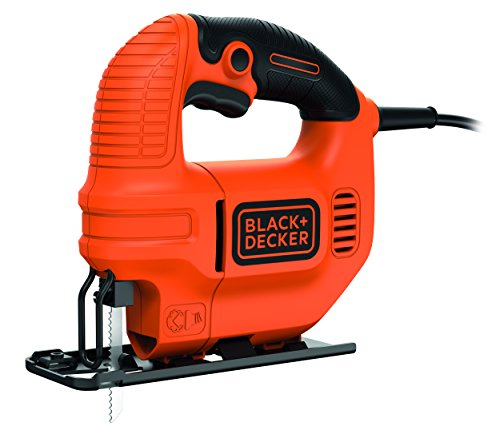 Black+Decker KS501 - Sierra de calar, 400 W, 230...