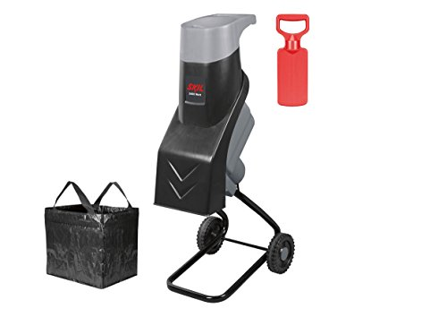 Skil Häcksler Urban Series 0770 AA, Karton (2.400 W, max. Ø 38 mm, +Fangsack +Stopfer, Easy Storage)