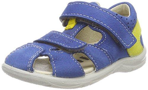 RICOSTA Unisex-Kinder KASPI Geschlossene Sandalen, Blau (Azur), 25 EU