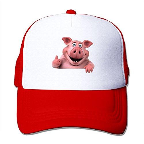 Saints Patron Kostüm - Qinckon My Patron Saint is A Guinea Pig Mesh Trucker Caps/Hats Adjustable for Unisex Black Cute7938