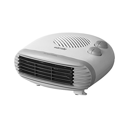 Warmlite WL44004 Flat Fan Heater, 2000 W, White