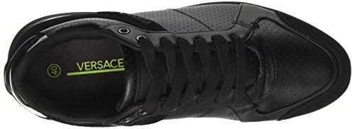 Versace Ee0yrbsb1_e70011, Baskets Homme Noir