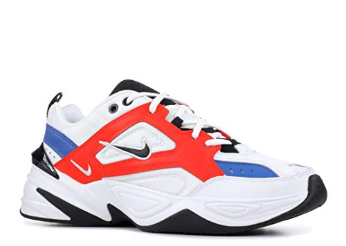 Nike Herren M2K TEKNO Fitnessschuhe, Mehrfarbig (Summit White/Black/Team Orange 100), 44 EU - Team Orange Schuhe