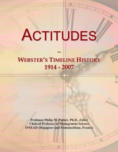Actitudes: Webster's Timeline History, 1914 - 2007