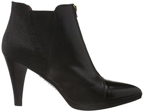 Hispanitas Eiffel, Bottines non doublées femme Noir - Schwarz (Antique-I6 Black Soho-I6 Black LIZARD-I6 Black)