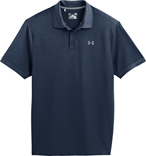 Under Armour Performance Polo Men's Short-Sleeve Shirt, Academy / Steel (408), Medium