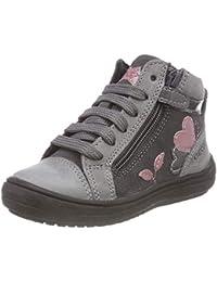 Geox J Hadriel A, Sneaker a Collo Alto Bambina