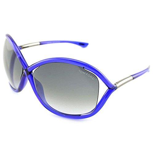 Tom Ford Sonnenbrille Whitney (64 mm) dunkelblau/grau Tom Ford Whitney Sonnenbrille
