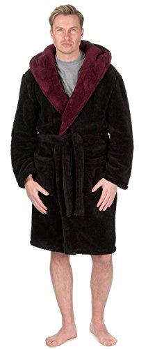 d1012583f1 MICHAEL PAUL Men s Hooded Soft   Cosy Snuggle Fleece Dressing Gown Test