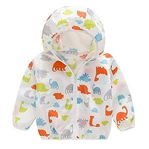 Vovotrade Cappotto Bambini Giacca Protezione Solare Ragazza Maniche Lunghe Caldo Leggero Antivento Giacche Giubbotti