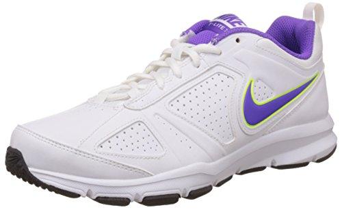 Nike Women's Tlite Xi Sl W White, Hyper Grape and Volt Running Shoes - 7 UK/India (41 EU)(8 US)