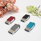 MECO USB 3.0 Stick 2in1 Type-C USB 3.1 und USB 3.0) 16G/32G/64G 100MB/s Grau(16GB)