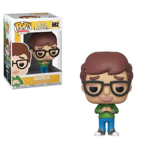 Funko - Big Mouth Idea Regalo, Statue, collezionabili, Comics, Manga, Serie TV,, 32168