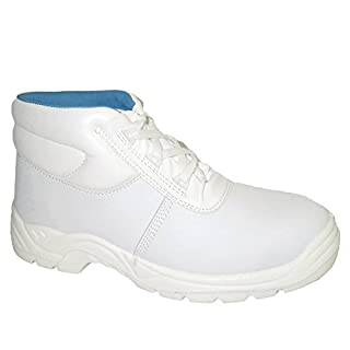 Portwest Steelite Albus Laced Boot S2 White 10.5