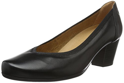 Caprice22301 - Scarpe con Tacco Donna , Nero (Nero (BLACK 1)), 37