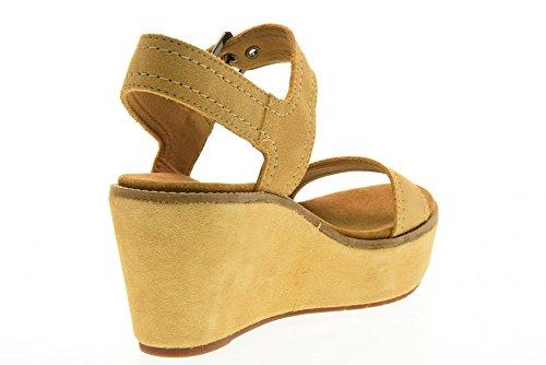 CLARKS Chaussures femmes Sandales compensées en 26.125.247 Aisley ORCHID SABLE Sable