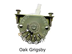 Genuine Oak Grigsby 4-way Selector Switch Fender Usa Stratocaster Strat