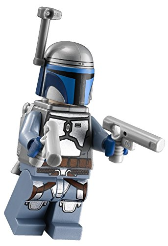 LEGO Compatible Star Wars Episode II Jango Fett Minifigure (75015) by (Jango Wars Star Fett)