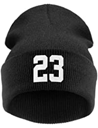4sold (TM) Men's Women's Beanie Hat Winter Warm Black Bad Hair Day