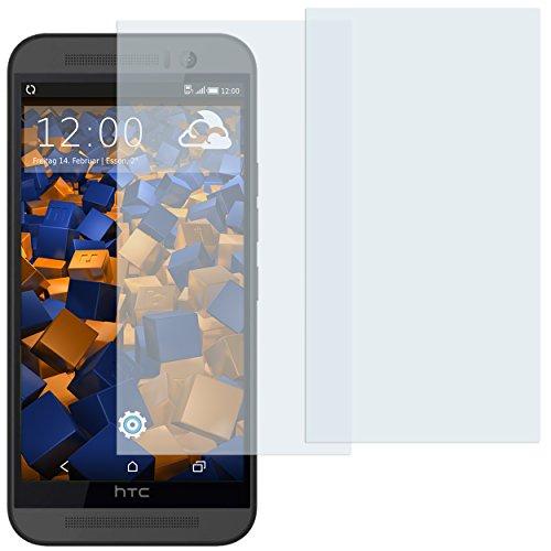 mumbi Schutzfolie kompatibel mit HTC One M9 Folie klar, Bildschirmschutzfolie (2x)