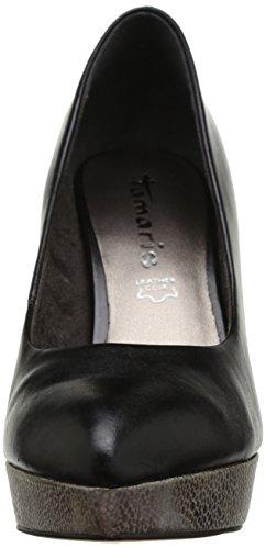 TAMARIS - Scarpe col tacco, Donna Multicolore (mehrfarbig (BLACK/SILVER 95))