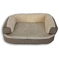 Ventadecolchones - Cama Ortopedica para Perro Deluxe Desenfundable - Mediana: 90 x 60 cm -