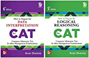 CAT Preparation combo by Arun Sharma: Data Interpretation and Logical Reasoning (Set of 2 books)