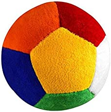 Soft Toys Stuff Toys Bell-Ring Ball by #ALPHA, Soft Fiber, (Multicolour), One Piece.