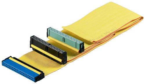 Wentronic HDD IDE Kabel für Ultra ATA Festplatten bis 133 Mbps 0,6m gelb (Ultra-ata Hdd)